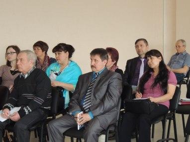 Слушатели семинара.